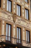 Quadrierte Fenster Lizenzfreie Stockbilder