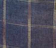 Quadrierte Textilbeschaffenheit Stockfoto