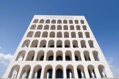 Quadriertes Colosseum Rom Lizenzfreie Stockfotos