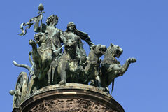 quadriga Obrazy Stock