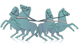 Quadriga Stock Image