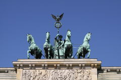 Quadriga Royalty Free Stock Images