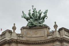 Quadriga allegory Royalty Free Stock Photos