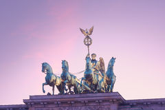 Quadriga Berlin Royaltyfria Bilder