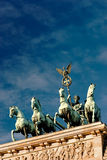 Quadriga on the Brandenburg Gate Royalty Free Stock Photography
