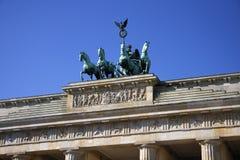 Quadriga, Brandenburg Gate Stock Image