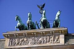 Quadriga, Brandenburg Gate Royalty Free Stock Photography