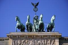 Quadriga, Brandenburg Gate Stock Photos