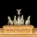 The Quadriga, Brandenburger Tor (Brandenburg Gate) Stock Photos