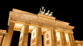 The Quadriga, Brandenburger Tor (Brandenburg Gate) Stock Photo
