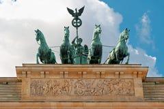 Quadriga statue in Berlin, Germany. Stock Photo