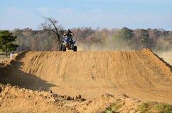 Quadrilátero ATV nosso para um passeio Fotos de Stock Royalty Free