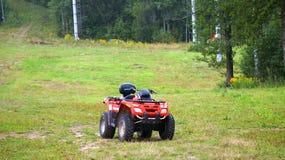 Quadrilátero de ATV Fotografia de Stock Royalty Free