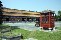 Quadrilatère intérieur, palais impérial photos stock