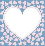 Quadro à moda para o dia de Valentim Imagens de Stock