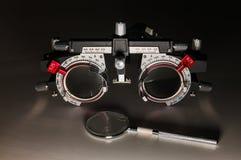 Quadro ótico ajustável dos testes Fotografia de Stock Royalty Free