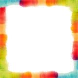 Quadro abstrato da aguarela Textura pintada mão Molde do cartaz, do cartão ou do convite ilustração do vetor