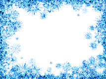 Quadro abstrato do gelo Imagem de Stock