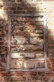 Quadro arquitetónico do tijolo Imagem de Stock
