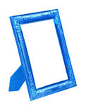 Quadro azul da imagem isolado no branco Fotografia de Stock
