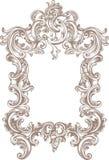 Quadro barroco Foto de Stock
