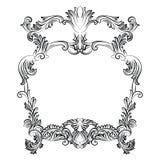 Quadro barroco imperial dos rococós do vintage Imagem de Stock Royalty Free
