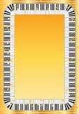 Quadro chave do piano Imagem de Stock