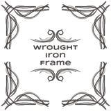 Quadro cinco do ferro forjado Imagens de Stock