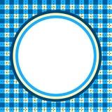 Quadro circular da beira do guingão da manta Fotografia de Stock Royalty Free