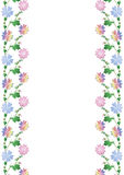Quadro colorido da flor Fotografia de Stock