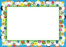Quadro colorido para crianças ilustração stock