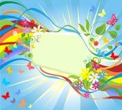 Quadro com arco-íris Foto de Stock Royalty Free