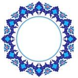 Quadro com as flores da arte do otomano Fotografia de Stock Royalty Free