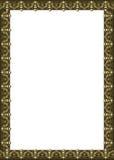 Quadro com beiras ornamentado decoradas orientais Imagens de Stock
