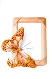 Quadro com borboleta Fotografia de Stock