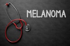 Quadro com conceito da melanoma ilustração 3D Fotografia de Stock Royalty Free