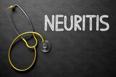 Quadro com conceito da neurite ilustração 3D Imagens de Stock