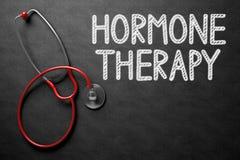 Quadro com conceito da terapia da hormona ilustração 3D Foto de Stock Royalty Free