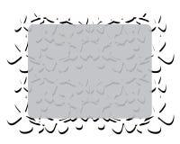 Quadro com flores brancas Imagem de Stock Royalty Free