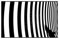 Quadro completo do teste padr?o ondulado imagem de stock