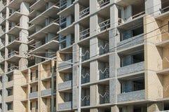 Quadro concreto monolítico da construção fotografia de stock royalty free