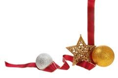 quadro da decoração do Natal Imagem de Stock