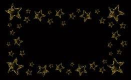 Quadro da estrela da água Imagens de Stock