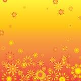 Quadro da flor fotografia de stock royalty free