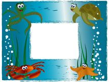 Quadro da foto do mar Fotografia de Stock