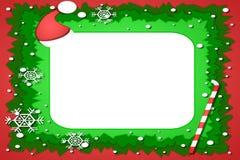 Quadro da foto do Natal Ilustração Stock