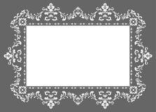 Quadro da foto do ornamento Imagens de Stock