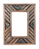 Quadro da foto do vintage, quadro de madeira Foto de Stock