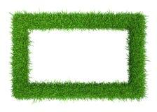 Quadro da grama verde com cópia-espaço ilustração royalty free