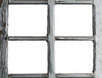 Quadro da janela velha Fotos de Stock